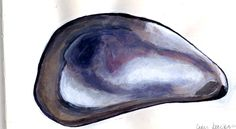 paintings of mussel shells | mussel painting2027