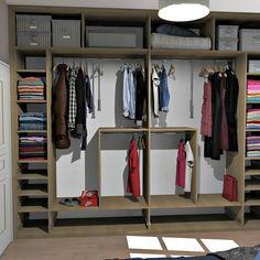 Vestidores y closets de estilo rústico por MJ Intérieurs