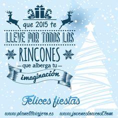 Desde Planeta Viajero os deseamos felices fiestas y un 2015 cargado de buenos momentos  #navidad #christmas #xmas #nochebuena #nochevieja