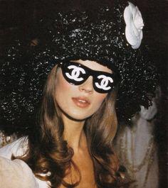 90's chanel sunglasses.