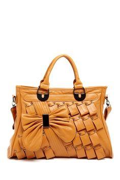 Segolene Bow Front Satchel Bag