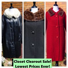 Closet Clearout Sale ends soon!
