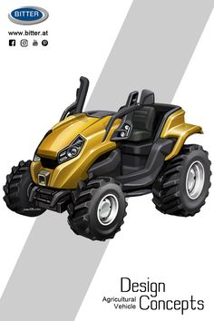 Small Tractors, Compact Tractors, Land Cruiser 4x4, 3d Design, Iron Man Art, City Car, Design Agency, Concept Cars, Cars And Motorcycles