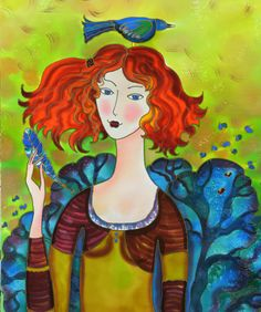 The Bird From Blue Forest ~ Yelena Sidorova