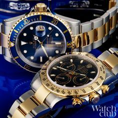 Two-tone heavyweights , which of these #Rolex do you prefer?