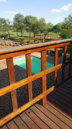 Cooldown at Blue Chip Game Lodge...