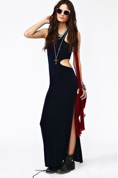 Cut Out Maxi Dress, I really want this!