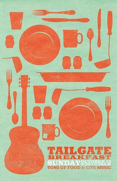 Tailgate Poster 1 by Abby In Color, via Flickr