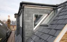 window option if full window isn't possible Attic Loft, Attic Rooms, Roof Design, Cladding, Garage Doors, Exterior, Windows, Loft Ideas, Outdoor Decor