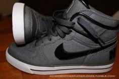 shoes nike gray black high tops high tops hightops nike high tops nike hightops high top sneakers sneakers high top shoes white