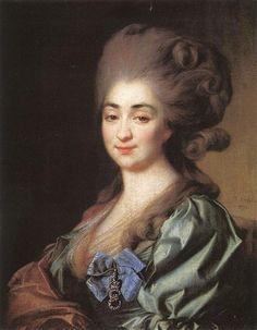 Portrait of Praskovia Repnina, 1781 - Dmitry Levitzky