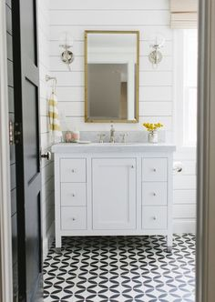Studio Mcgee Shiplap Bathroom