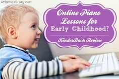 Online Piano Lessons for Early Childhood? {KinderBach Review} Online Music Lessons, Music Lessons For Kids, Music For Kids, Piano Lessons, Fun Learning, Teaching Kids, Learning Piano, Music Education, Childhood Education