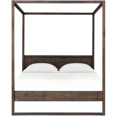 4 Poster Spati Bed – Ebony