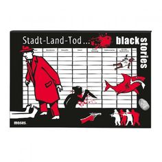 moses. Verlag black stories – Stadt Land Tod