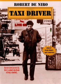 Taxi Driver. Afiche británico.