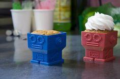 Moldes para cupcakes que son más irresistibles que los propios pasteles. Además de fáciles de desmoldar...