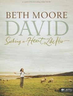 David: Seeking a Heart Like His, Bible Study by Beth Moore - I didn't even know this one existed.and David is my favorite! Online Bible Study, Bible Study Group, Book Study, Francis Chan, Beth Moore Bible Study, David Bible, Books To Read, My Books, Attitude
