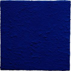 Blue by Yves Klein