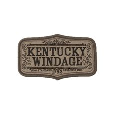 Kentucky Windage - Morale Patches - Apparel - Tactical Distributors- Tactical Gear