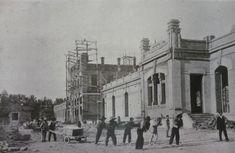 1906 construccion estacion del norte