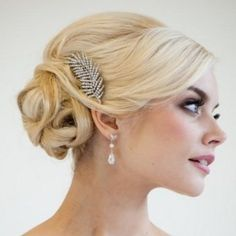 The Best Low Updo Bridal Hairstyles
