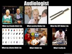 what we really do - audiology