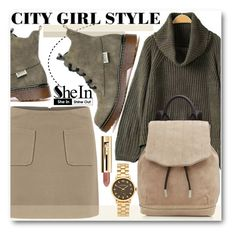 """""""City Girl Style"""" by pokadoll ❤ liked on Polyvore featuring moda, rag & bone, Marc by Marc Jacobs, vintage, Sheinside e shein"""