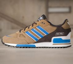 adidas Originals ZX 750: Kharki/Brown/Blue