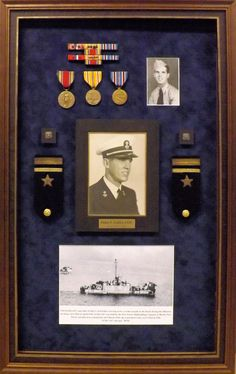 Military shadowboxes are a great way to honor the service and share the stories of these brave men and women.