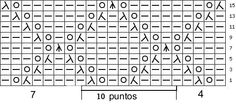 Silvana Tim - Tejido con dos Agujas, Crochet, Recetas de Cocina: Puntos (puntadas) ROMBOS CALADOS. Tutorial de TEJIDO CON DOS AGUJAS # 239