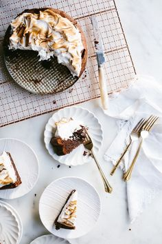 Chocolate Almond Cak