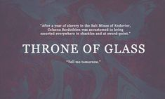first and last sentences: throne of glass