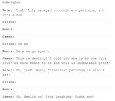 the marauders - james and lily