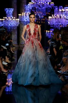 ELIE SAAB HAUTE COUTURE FALL WINTER 2014-2015 FASHION SHOW