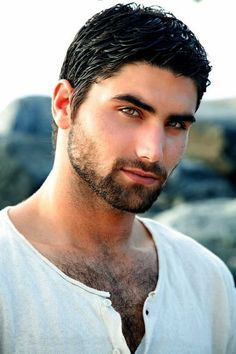 Just a guy who has the right coloring to match my hero, Nic. Dark hair and amber colored eyes. Hairy Men, Bearded Men, Beautiful Eyes, Gorgeous Men, Amazing Eyes, Hello Gorgeous, Handsome Faces, Handsome Man, Hairy Chest