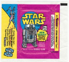 Star Wars 1977 Topps Series 3 Wrapper - $4
