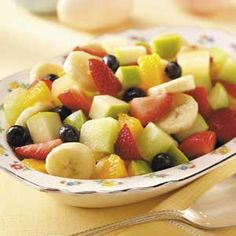 six-fruit salad...from taste of home simple & delicious cookbook