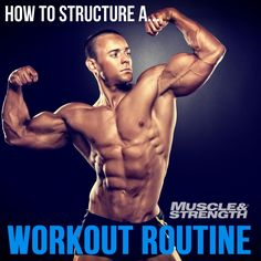 How To Structure A Workout Routine