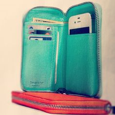 Tiffany & Co wallet/phone case!!!  I NEED this.  Not in this color, doesnt need to be Tiffany, but I NEED THIS! LOL