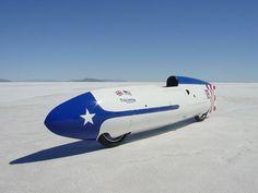 Speed at The Bonneville Salt Flats