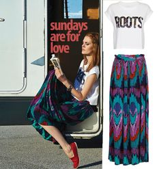 attrativo skirt Tie Dye Skirt, My Style, Skirts, Fashion, Accessories, Moda, Fashion Styles, Fashion Illustrations, Fashion Models