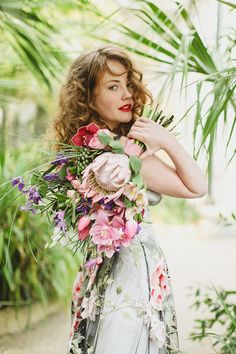 ❀ Flower Maiden Fantasy ❀ beautiful photography of women and flowers - Botanical Inspiration by Jess Petrie