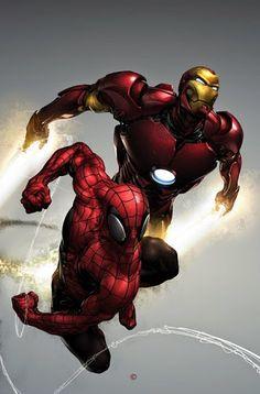 Homem Aranha & Homem de Ferro