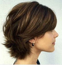 short layered bob - with a difference