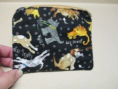Dog Coin Purse quilted by CutePurseNalities on Etsy