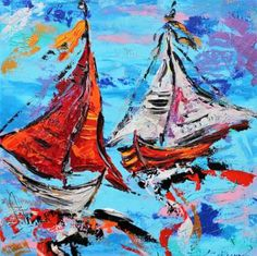 """""""Dansing boats on the waves!  """""""