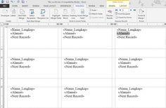Jasa Pengetikan Online Microsoft Office,Excel,Word,Print & Scan Autocad: Memanfaatkan Mail Merge untuk membuat label undangan pada microsoft word