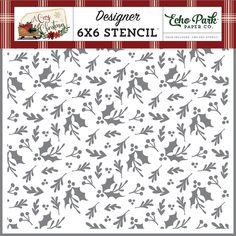 13x13cm Stencil scrap booking coffee pattern -C011 feather pattern Decoupage
