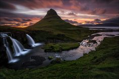 "Feel free to visit me on FB or Instagram, too:  https://www.facebook.com/DP.Photography.Images  http://instagram.com/dennispolklaeserphotography/   Kirkjufell, Grundarfjörður, Snæfellsnes, Iceland, 31.07.14  I hope you enjoy it :-)  Kamera/Camera: Canon Eos 5 D Mark III Objektiv/Lens: Canon EF 16-35 F4 L Filter: Lee Filters  ICELAND - ""Nordic Autumn"" Workshop Tour 2015 / 19.09. - 26.09.15 (guided in german language )  www.d-p-photography.com/Workshop.pdf  Just one spot left!"